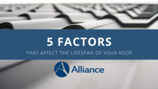 5 Factors that Affect the Lifespan of Your Roof
