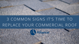 3 Common Signs It's Time to Replace Your Commercial Roof