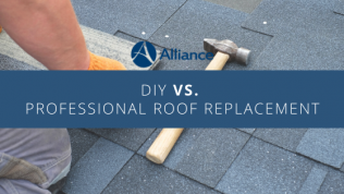 DIY Roof Replacement vs. Professional Roof Replacement