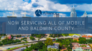 Now Servicing All of Mobile and Baldwin County