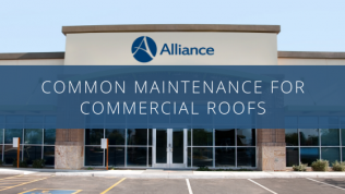 Common Maintenance for Commercial Roofs